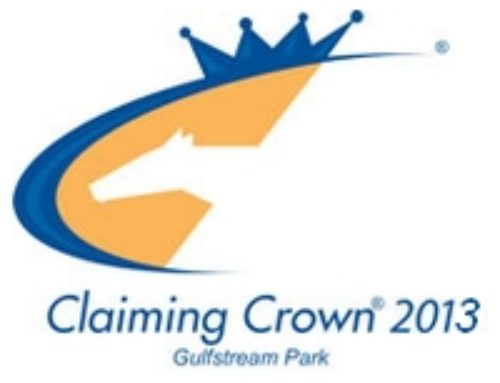 Claiming Crown Purses to Hit $1 Million, Event to Be Held at Gulfstream through 2015